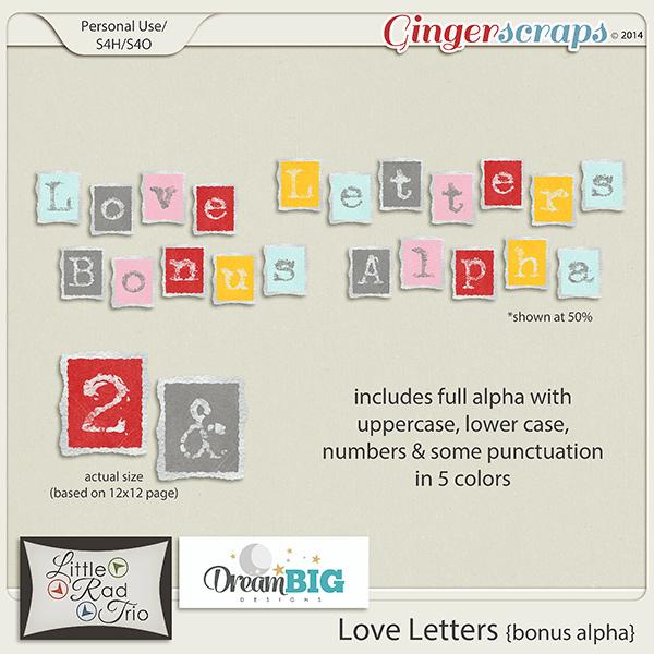 Love Letters Alpha Bonus