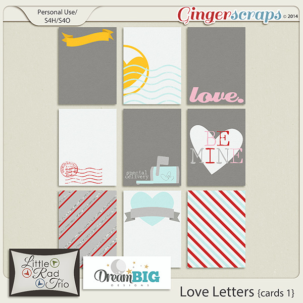 Love Letters Cards 1