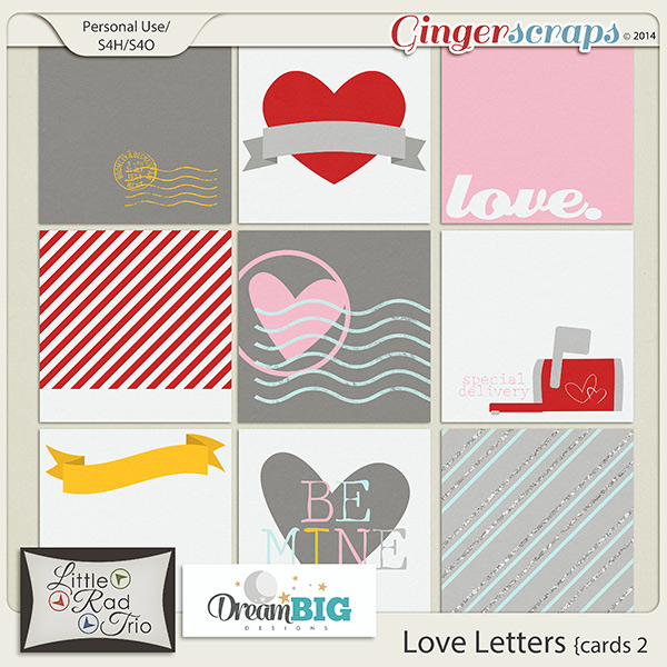Love Letters Cards 2