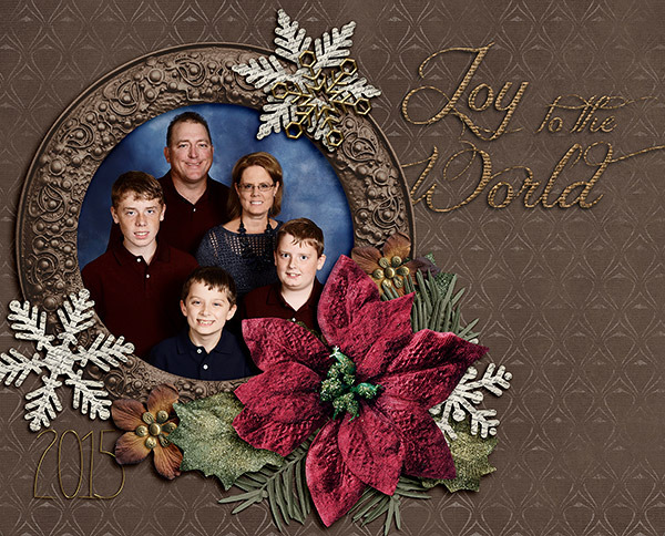 Jennifer Christmas card