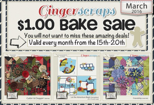 March 2016 Bake Sale Ad