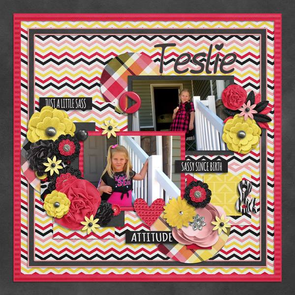 "Layout by Shelly (using ""Create Easy N Free 17"" template by Tinci Designs)"