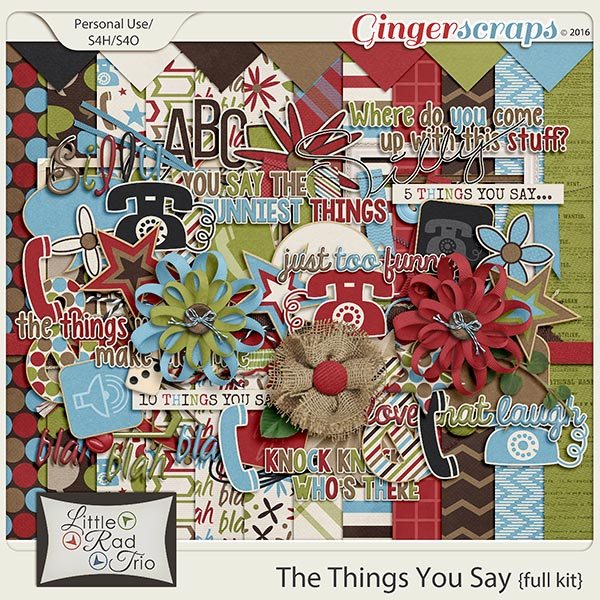 The Things You Say preview