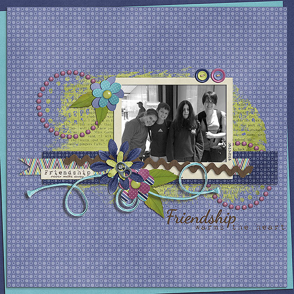 Layout by Judy using Friendship