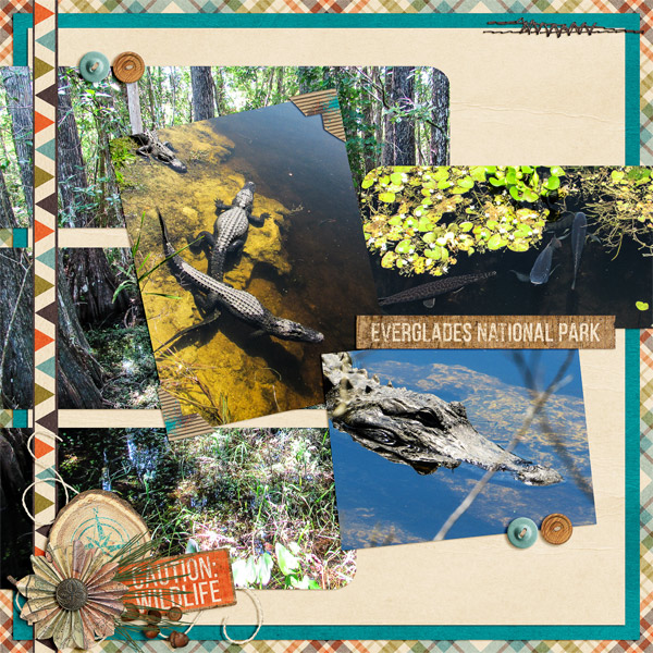 Layout by Donna (template by Mags Graphics for the September Template Challenge 1)