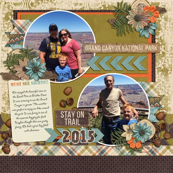 Layout by Jenny (template: Then & Now by Dear Friends Designs)