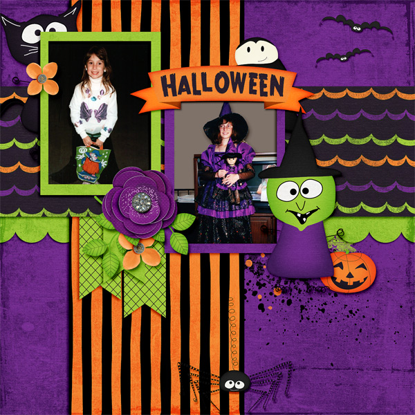 By Donna (kit: Happy Hauntings by Keley Designs)